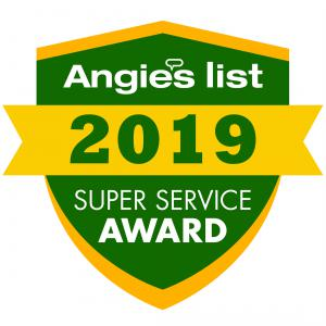 Matlock Construction & Roofing Angie's List Super Service Award