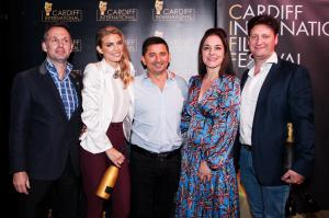 Team Living My Illusion Wins a Documentary Award at Cardiff International Film Festival with AnnaLynne McCord an American Hollywood Actress, Joel and Timea Van der Molen and Bestselling Author Tony J. Selimi