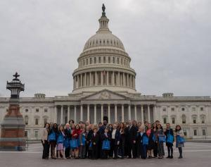 Youth for Human Rights volunteers from across the country have been meeting with their Members of Congress both in Washington, DC, and back home at their local district offices.