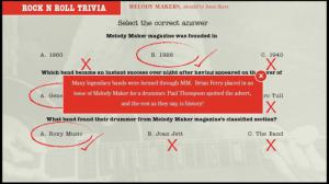 Melody Makers Rock N Roll Trivia