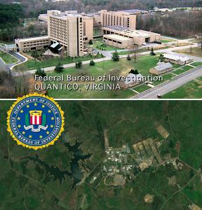 FBI Academy located within Stafford County.