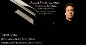 Alexei Volodin performs and gives a masterclass at the InterHarmony Festival in Italy in July.
