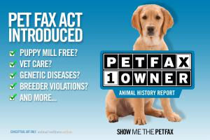 The Petfax Act