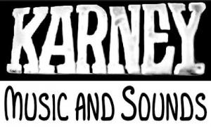 Karney Music and Sounds Logo
