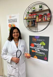 Dr. Aruna Nathan, Internal and Lifestyle Medicine Physician in Kensington, Maryland teaches her patients to view food as fuel.