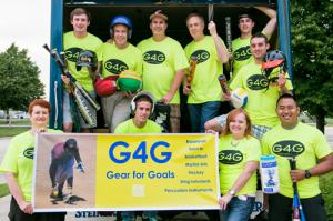 April Neill PR Promotes G4G Gear Drive