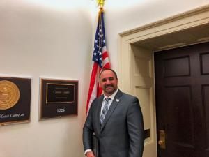 NDPO Chairman Mike Eby on Captiol Hill this week
