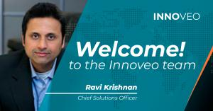 As Innoveo's Chief Solutions Officer, Ravi Krishnan will lead the company's expansion of its digital solutions strategy for the insurance and banking markets.