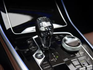Picture showing center console in a BMW with new cockpit design