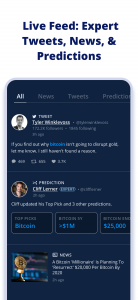 Live Crypto News Feed: Expert Tweets, News, and Predictions
