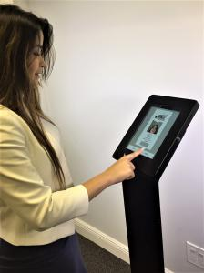 Allows Visitors to Self Enroll their information into the Visitor System