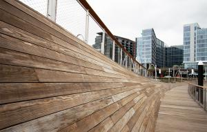 Kebony Cladding/Decking – The Wharf, Washington, DC