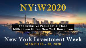 @New York Investment Week March 16 - 20