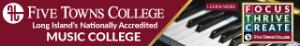 Five Towns College Nationally Accredited Music College with piano