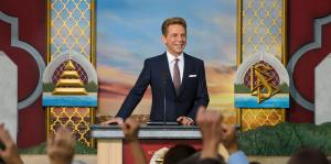 Mr. Miscavige leads the dedication ceremony in Ventura County, Southern California, for a new Scientology Church to serve the hundreds of thousands who call these shores home.