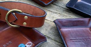 Leather Valets and Gifts from Four Robins Ltd.