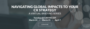 COVID-19 Virtual Briefing for Customer Experience Leaders