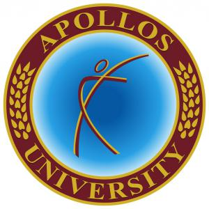 The Logo of Apollos University