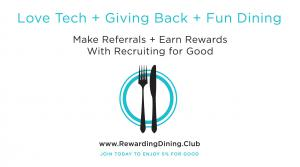 Rewarding Foodies Dining for Good to Share with Family and Friends