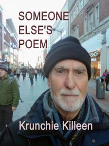 A Selfie by Krunchie Killeen in a woolly hat and scarf in a busy city street: Henry Street, Dublin, a cold dry day in January 2019