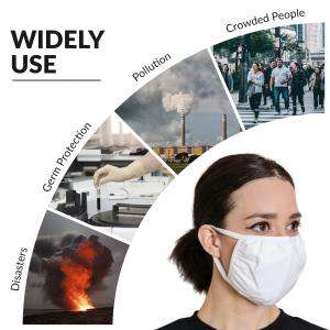 reusable washable air pollution face mask protection