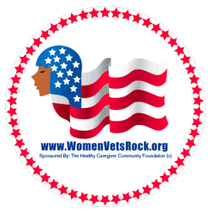 Women Veterans ROCK! logo and website (www.womenvetsrock.org)