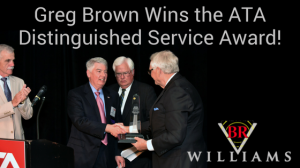 Greg Brown wins Alabama Trucking Award