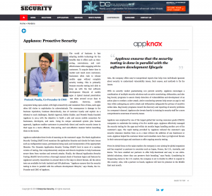 Appknox Top Vulnerability Management Solution Provider