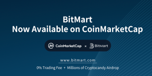 BitMart Exchange Now Listed on CoinMarketCap