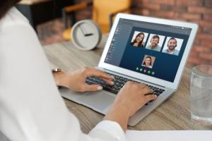 Video conferencing for remote workforce