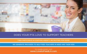 Join the Most Rewarding Cause Today Love to Feed LA Teachers