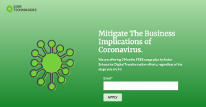 Using FREE innovative technology to fight coronavirus impact to business.