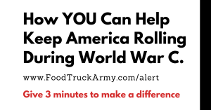 How You Can Help Keep America Rolling During World War C