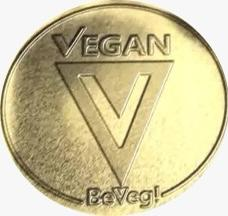 Global Vegan Symbol by BeVeg. The logo for plant-based food safety and sustainability. Represented on every continent except Antarctica