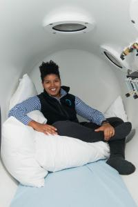 Alex Williams, founder and owner of Holistic Hyperbarics