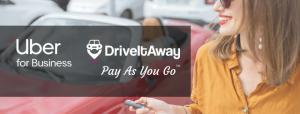 DriveItAway Partners with Uber for Business