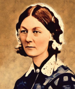 Florence Nightingale, OM, RRC, DStJ was a British social reformer, statistician, and the founder of modern nursing. Nightingale came to prominence while serving as a manager and trainer of nurses during the Crimean War, in which she organised care for wou