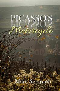 Piccaso's Motorcycle by Marc Sercomb - available now