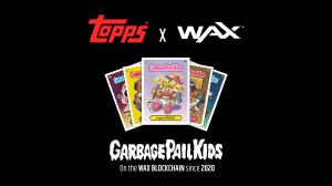 The Topps Company launches GPK cards on the WAX Blockchain