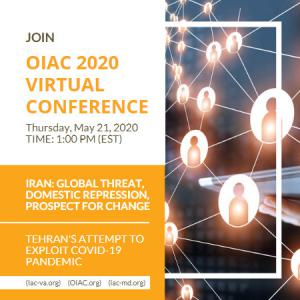 Organization of Iranian American Communities (OIAC) Hosts Nationwide Virtual Conference to Support Regime Change by Iranians, Call for Snapback of UN Sanctions