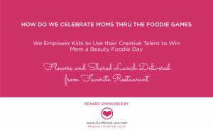 We Inspire Kids to Use their Talent for Good...www.TheFoodieGames.com