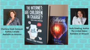 Two international authors working together for the online safety and protection of children globally