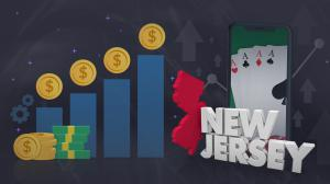 record poker revenue new jersey