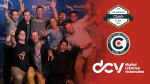 DCV named Clutch top global agency and top 1000 video production company world wide.