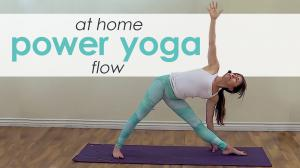Power Yoga Workout /  Yoga Flow Class