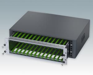 "Enclosures for 19"" subracks and chassis"