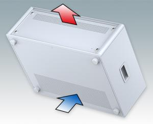 "Technomet 19"" enclosures feature ventilation"