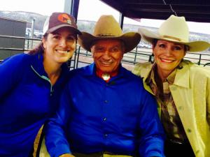 Jamie Jennings, Monty Roberts, and Debbie Loucks