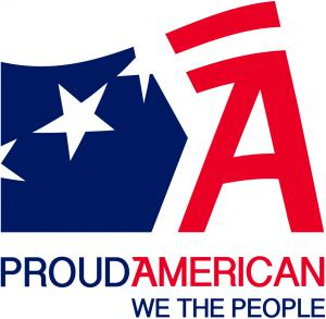 Proud American Party We the People logo — www.proudamerican.net