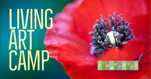 Living Art Camp by Flower Duet